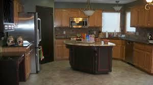 Colourful Kitchen Appliances Kitchen Paint Colors With Oak Cabinets And White Appliances
