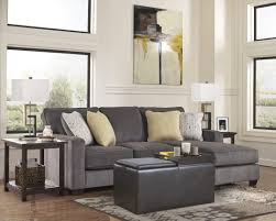 living room ideas with black sectionals. Small Living Room Ideas With Black Sectional Sofa And Leather Ottoman Also Side Table Plus Drum White Floor Lamp Cream Cushion Furniture Admirable Come Grey Sectionals N
