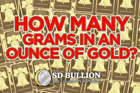 Grams To Ounces Chart Gold How Many Grams Are In An Ounce Of Gold