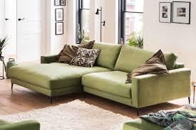 Candy Ecksofa Uptowen Velvet Green