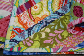 twin fibers: Bright colored scrappy quilt - finished! & There are just some quilts and fabrics that I adore- colors just seem to go  perfectly together or the pattern is interesting... but I really love how  this ... Adamdwight.com