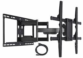 secu articulating full motion tv wall mount for samsung 49 55 58 60 65 70 75
