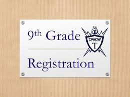 Image result for 9th grade registration