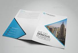 Free Two Fold Brochure Template Two Fold Brochure Template Psd Free Bi Fold Brochure Template Sample