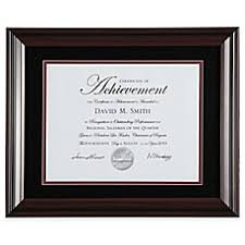 diploma certificate frames bed bath beyond image of photoguard 2 tone 8 5 inch x 11 inch document frame in