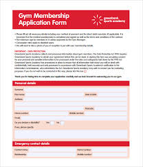 10 Gym Contract Templates Pages Word Docs