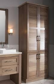 Bathroom : Vanity And Linen Closet Corner Free Standing Linen ...