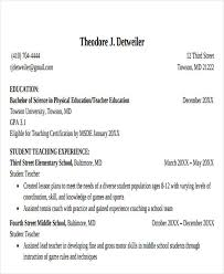 education in resumes 20 education resume templates in pdf free premium templates