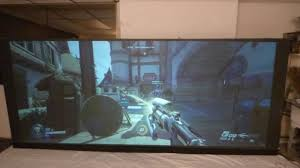 paint a ultra wide 2 35 1 oled like black projection screen