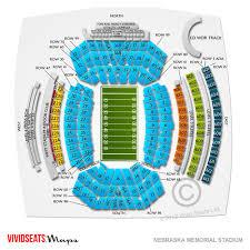 Seating Chart For Memorial Stadium Lincoln Nebraska Husker Football Illinois Start Time Tv Info And More