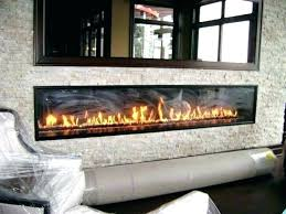 install gas fireplace logs installing vent free line for firepla