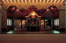 the exterior box office kisok for the el capitan theatre art deco box office loew