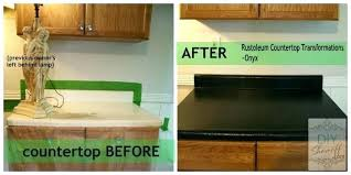 countertop coating paint also kitchen transformation kit s and painted table floor coating refinishing home