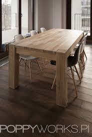 gallerie timber dining table tables a custom made table made of solid oak timber natural color waxed