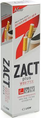 CJ LION <b>Зубная паста отбеливающая Zact</b> Lion купить в ...