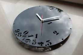 black wall clocks large contemporary and decorative