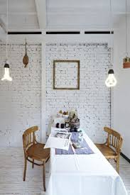 Small Picture Painting Brick Walls White An Increasingly Popular Trend