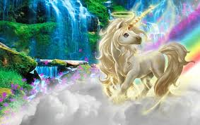 Unicorn Clouds Rainbow Nature Wallpapers Unicorn Clouds Rainbow