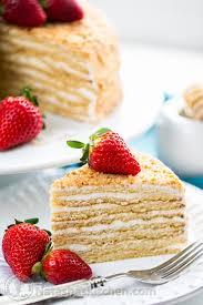8 Layer Honey Cake Recipe Medovik
