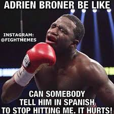 AFunniest memes about boxer Adrien Broner's humiliating loss via Relatably.com