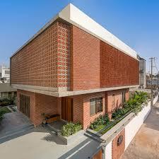 Em vez de serem dispostos de forma. Casa Com Fachada De Tijolos Ms Design Studio Archdaily Brasil