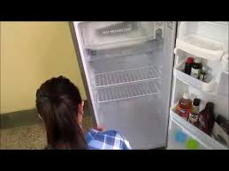 REFRIGERATOR CLEANING without vinegar