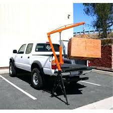 Truck Bed Crane Hoist Hitch Hoist Portable Truck Crane ...