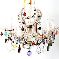 lighting fancy multi colored chandelier 12 chandeliers milano color crystal murano 6 arm crown shaped