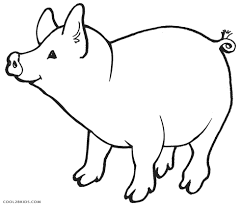 Coloring Page : Coloring Pages Pigs Free Printable Pig For Kids ...