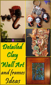40 detailed clay wall art and frames ideas