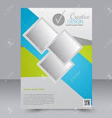 Green Brochure Template Flyer Template Business Brochure Editable A4 Poster For Design