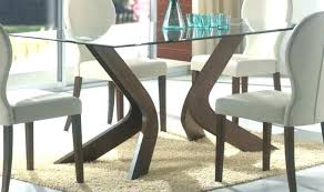 home and furniture glamorous dining table base for glass top on modern bases the most diy