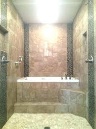 kohler jacuzzi tub shower combo combination corner brilliant walk in whirlpool with best tile and renovation