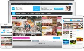 Theme Downloads Envince Free Drag Drop Responsive Magazine Wordpress Theme