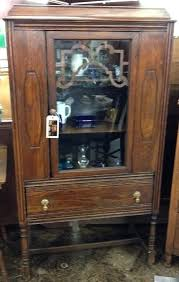 antique hutch with glass doors antique solid wood china hutch w glass door beautiful antique kitchen hutch with glass doors