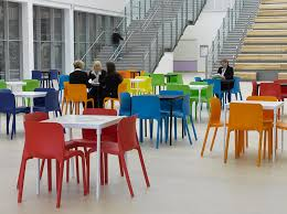 office canteen. new classroom canteen plastic pop chairs office d