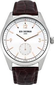 <b>Часы</b> наручные <b>мужские Ben Sherman</b>, цвет: коричневый ...