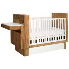Studio Crib With Changing Table Hideaway