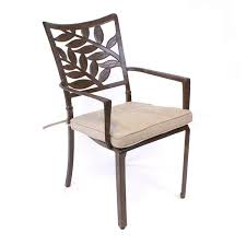 forest cast aluminium armchair seat
