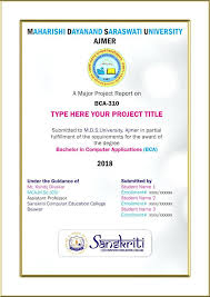 front page for computer project report cover page template for ms word project free download front