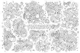 Free Thanksgiving Coloring Pages For Adults Kids Happiness Is