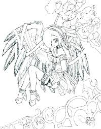 Anime Fairy Coloring Pages For Adults Fairy Tail Anime Printable