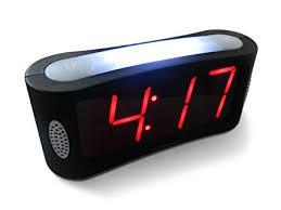 Buy LED <b>Digital Alarm Clock</b> - Outlet Powered, No Frills Simple ...