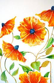 orange flowers tutorial part 1 petals