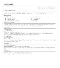 Emt Resume Examples Resume Template Easy Http Www
