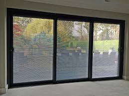 sliding door internal blinds. A Smart Visoglide Plus Triple Track Sliding Door Complete With Integral Blinds To The Sealed Units, Recently Installed At Property In Wakefield. Internal D