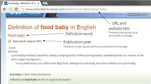 Mla Citing A Website How To Cite A Dictionary In Mla 7 Easybib Blog