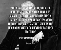Henry Wadsworth Longfellow Famous Quotes