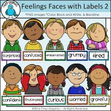 Emotion Chart For Kids Emotions Clipart Emotion Chart Emotions Emotion Chart