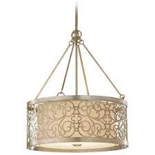 drum pendant light decoration